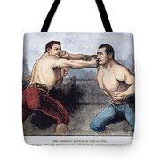 Sullivan & Kilrain Fight Tote Bag