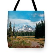Summer At Mt. Hood In Oregon Tote Bag