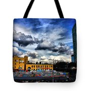 Summer Blues Tote Bag