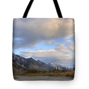 Summer Clouds Over Colin Mountain Tote Bag