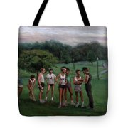 Summer Evening Meet Tote Bag