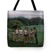 Summer Evening Meet Tote Bag