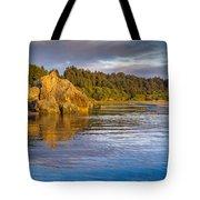 Summer Evening On Little River Tote Bag