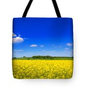 Summer Field Tote Bag by Amanda Elwell
