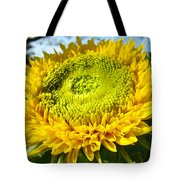 Summer Floral Art Prints Yellow Sunflower Tote Bag