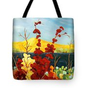 Summer Foliage Tote Bag