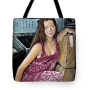 Summer Glau - River Tam Tote Bag