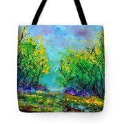 Summer In The Wood 452160 Tote Bag