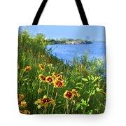 Summer In Toronto Park Tote Bag by Elena Elisseeva
