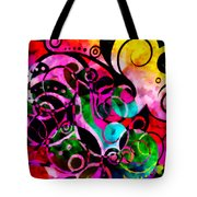 Summer Introspection Of An Extrovert Triptych Horizontal Tote Bag