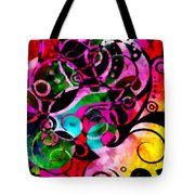 Summer Introspection Of An Extrovert Triptych Vertical Tote Bag