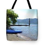 Summer Kayak Tote Bag
