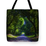 Summer Lane Tote Bag