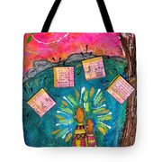 Summer Melodies Tote Bag