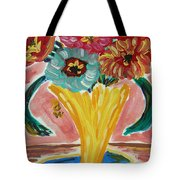 Summer Season 2012 Blooms Tote Bag