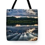 Summer Thunder Tote Bag by Nathan Larson