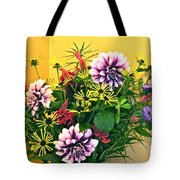 Summer To Autumn Bouquet Tote Bag