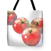Summer Tomatoes Tote Bag