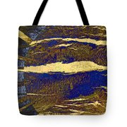 Sun And Clouds Tote Bag