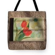 Sun And Tulips Tote Bag