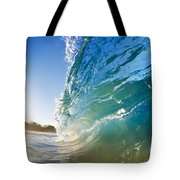Sun And Wave Tote Bag