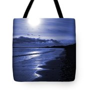 Sun At The Shore II Tote Bag