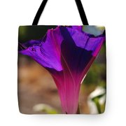 Sun Bathing In Shades Of Purple Tote Bag