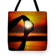 Sun Circle Tote Bag