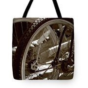 Sun Cruiser Wheels Tote Bag