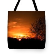 Sun Down  Tote Bag