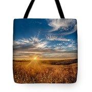 Sun Enchanted Evening I Tote Bag