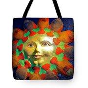 Sun Fish Tote Bag
