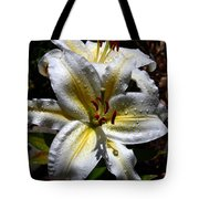 Sun Kissed Lily Tote Bag