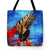 Sun Lit Eastern Tiger Swallowtail Tote Bag