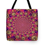 Sun Pattern Tote Bag