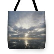 Sun Reflection Over Water, Wattenmeer Tote Bag