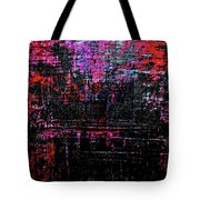 Sun Rise On Fire Tote Bag