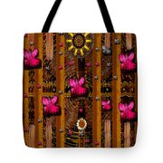 Sun Rose Garden Tote Bag