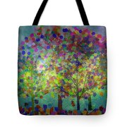 Sun Setting On An Autumn Afternoon Tote Bag
