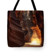 Sunbeam In Antelope Canyon Tote Bag