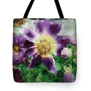 Sunburst In Lavender Tote Bag