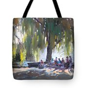 Sunday Afternoon By The Fontain Tote Bag