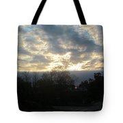 Sunday Autumn Sunset One Tote Bag