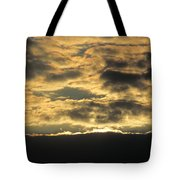 Sunday Autumn Sunset Three Tote Bag