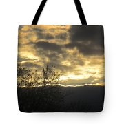 Sunday Autumn Sunset Two Tote Bag