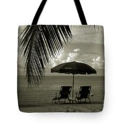 Sunday Morning In Key West Tote Bag