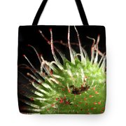 Sundew Eating A Fly Tote Bag