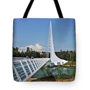 Sundial Bridge - Sit And Watch How Time Passes By Tote Bag