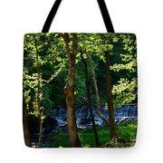 Sundown At The Falls Tote Bag