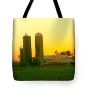 Sundown At The Ranch Tote Bag